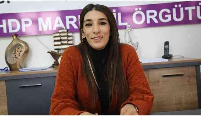 HDP Mardin İl Eşbaşkanı Eylem Amak gözaltına alındı