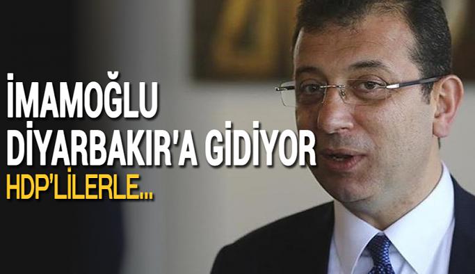 İBB Başkanı Ekrem İmamoğlu Diyarbakır'a gidiyor