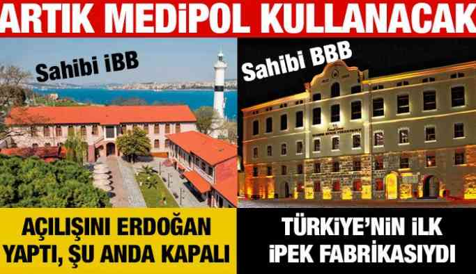 İki tarihi bina daha Medipol'e…