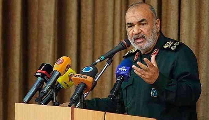 İranlı general: Büyük güçler ülkeyi bölmeye çalışıyor