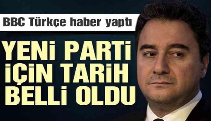 Sıcak Haber... Babacan'ın partisi için tarih belli oldu