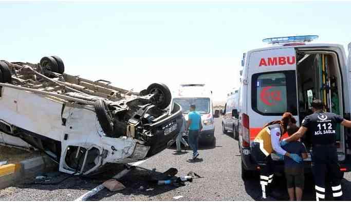 Silvan yolunda kaza: 5 yaralı