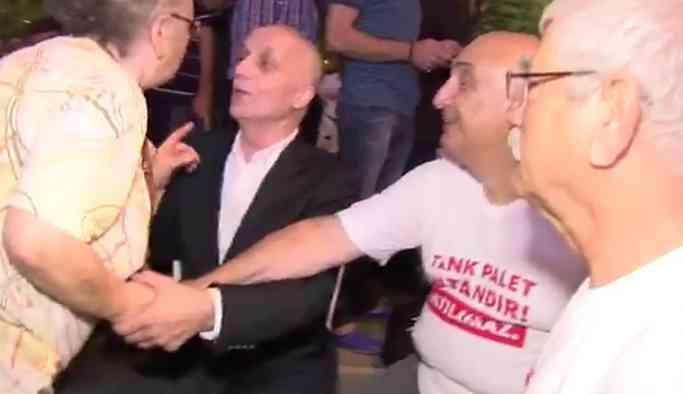 Türk-İş Başkanına böyle tepki gösterdi: Sen hiç konuşma!
