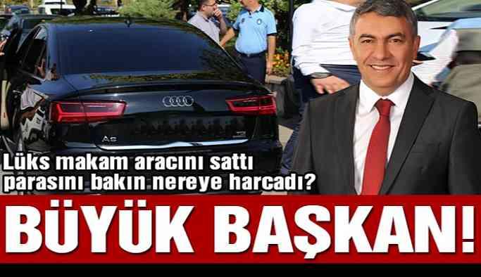 AKP'li başkan makam aracını sattı, parasını bakın nereye harcadı!