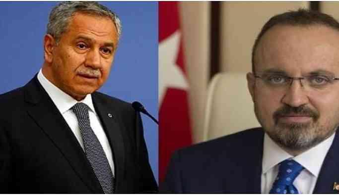 Arınç'tan AKP'li Turan'a yanıt: Boyundan büyük işlere karışma!