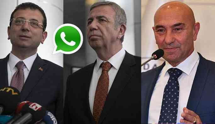 CHP'de Whatsapp buluşması