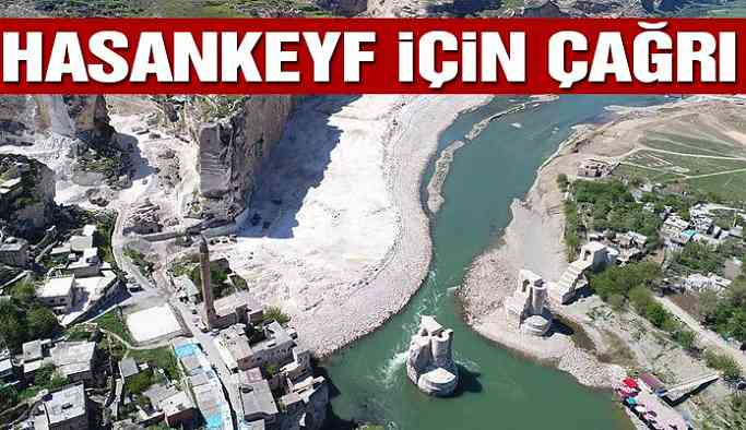 CHP'den Hasankeyf için çağrı