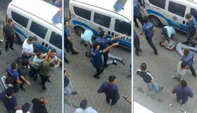 Darp edilerek gözaltına alınan baba-oğul tutuklandı