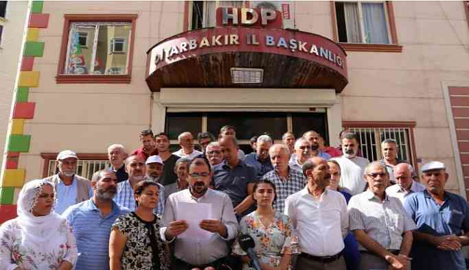 Diyarbakır HDP: Çocukları kaybolan aileleri polis partimize yönlendiriyor