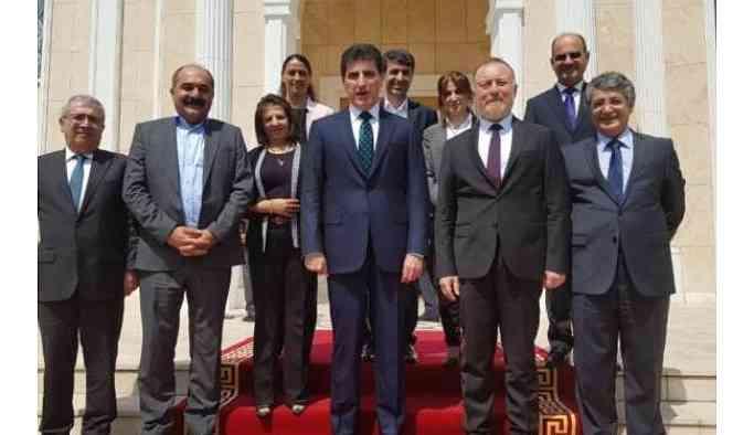 HDP'den Barzani'ye ziyaret