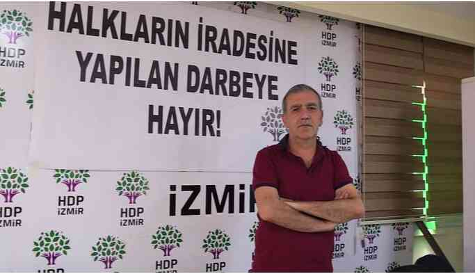 HDP İl Eşbaşkanı Baydur: Erdoğan demokrasiyi hazmedemiyor