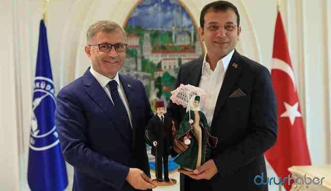 İmamoğlu AKP'li belediyeyi ziyaret etti