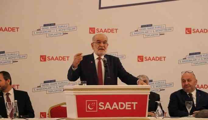 Karamollaoğlu'dan sert sözler: AK Parti şu an çatlıyor...