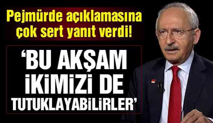 Son dakika… Kılıçdaroğlu'ndan Soylu'ya pejmürde yanıtı!
