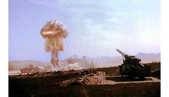 'Nükleer savaş riski var'