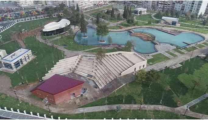 Siirt'te yarım kalan yeşil alanı İBB'yi bekliyor