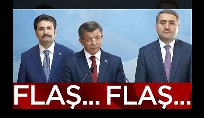 Son dakika… Ahmet Davutoğlu AKP'den istifa etti!