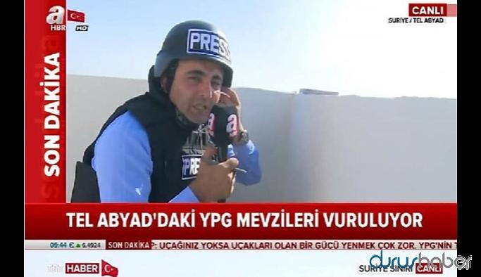 A haber bu sefer TRT'ye yakalandı: Ateş altındaymış gibi çek!