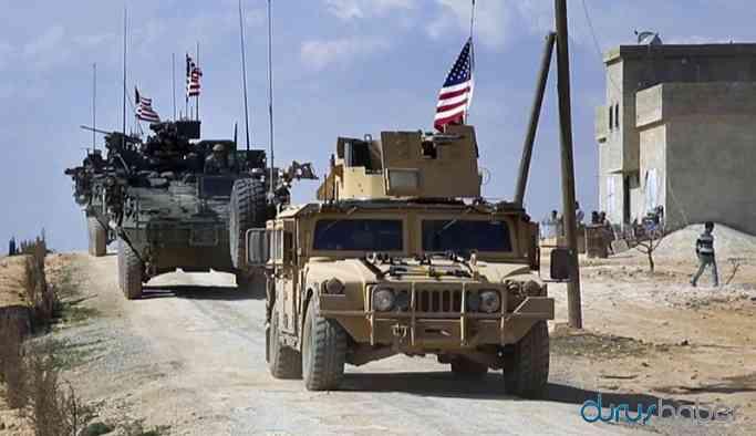 ABD askerleri Kamışlı'da yeniden devriyede