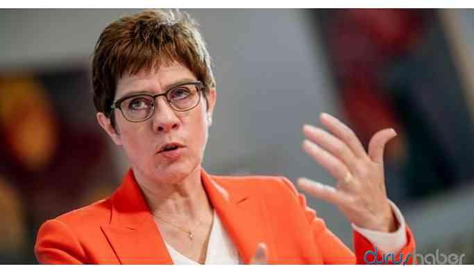 Almanya Savunma Bakanı: Türkiye'nin işgali bir gerçek
