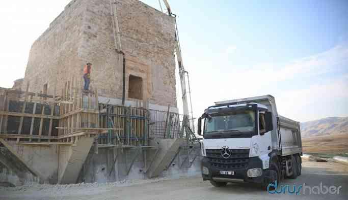 Binlerce yıllık eser 'koruma' adı altında betona gömülüyor