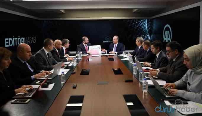 Çavuşoğlu: Yerel yönetimlerde Araplar olacak