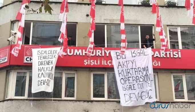 CHP binasında işgal eylemi!