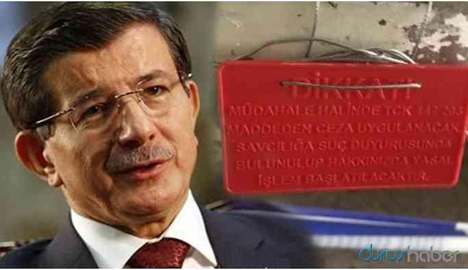 Davutoğlu'nun partisi için kiraladığı ofis mühürlendi