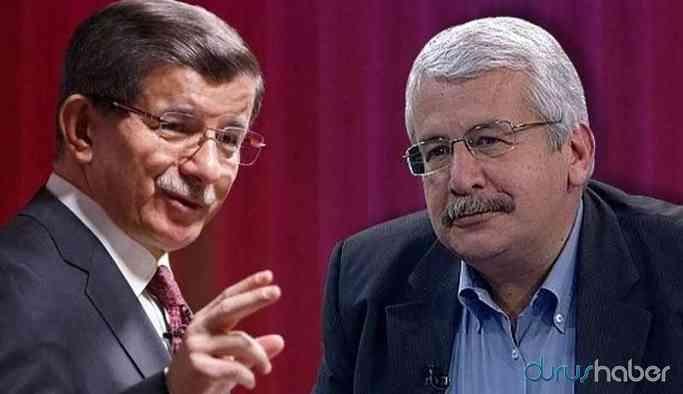 Davutoğlu'yla görüştü partisinden istifa etti
