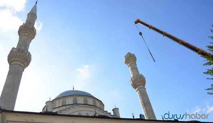 Depremde yıkılan minarenin yapımında da malzeme çalmışlar