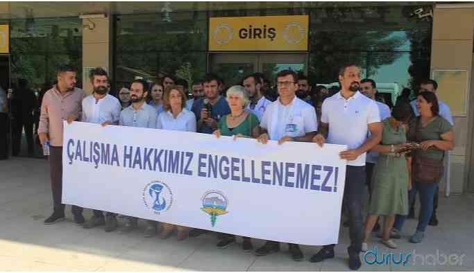 Diyarbakır'da 4 hekimin işine son verildi