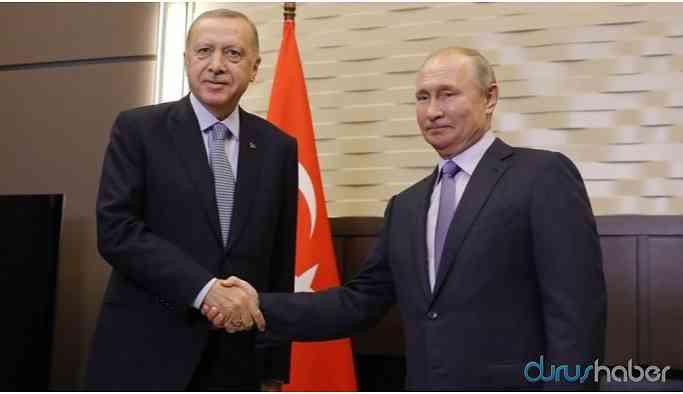 Erdoğan ve Putin bir araya geldi
