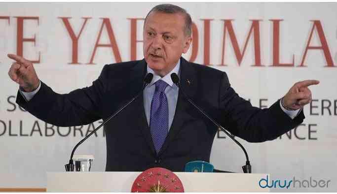 Erdoğan'dan 'operasyonu sürdürme' mesajı