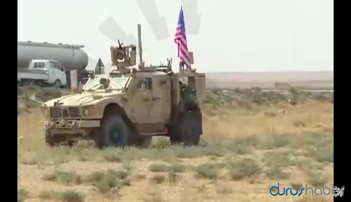 Harekat bölgesinde ABD askerleri görüntülendi