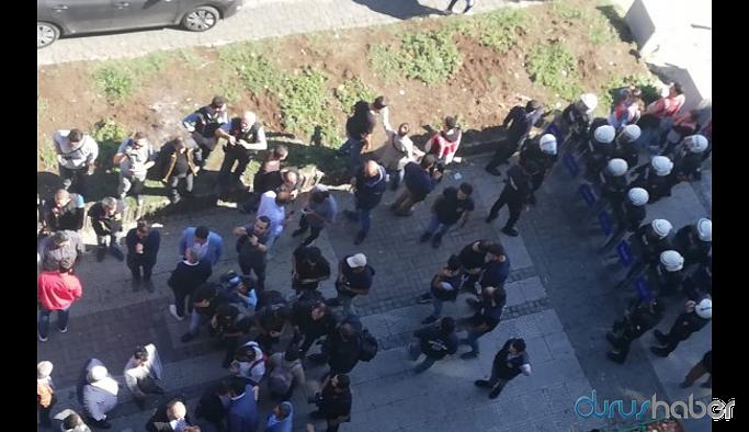 HDP'lilere polis saldırısı: Çok sayıda gözaltı