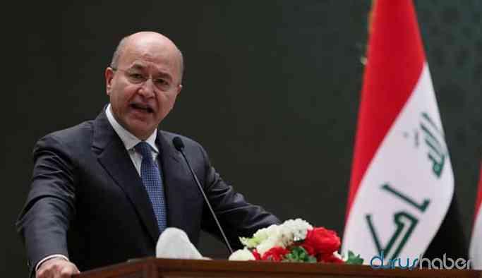 Irak Cumhurbaşkanı, Türkiye'nin harekatı durdurmasını istedi