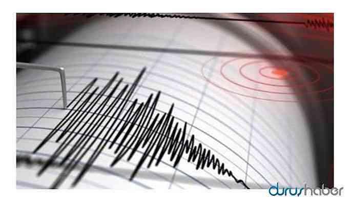 İstanbul yakınlarında deprem!