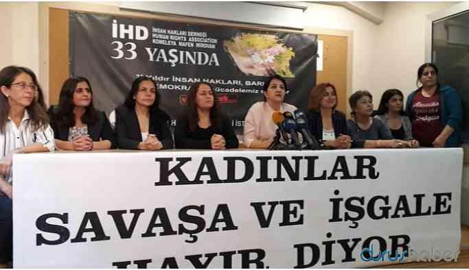 Kadın eş başkan ve sözcüler: Savaşı kabul etmiyoruz