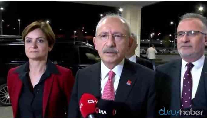 Kılıçdaroğlu: Türkiye yönetimi Şam yönetimiyle görüşmeli
