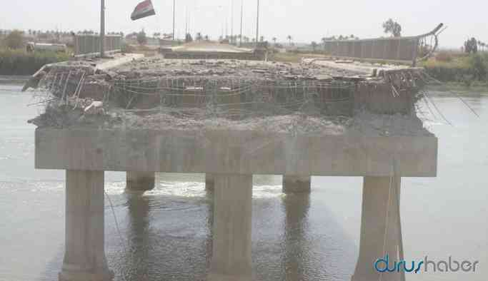 Minbic-Cerablus arasındaki köprüyü patlayıcılarla yıktılar