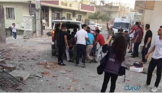 Nusaybin'de patlama: Çok sayıda yaralı var!