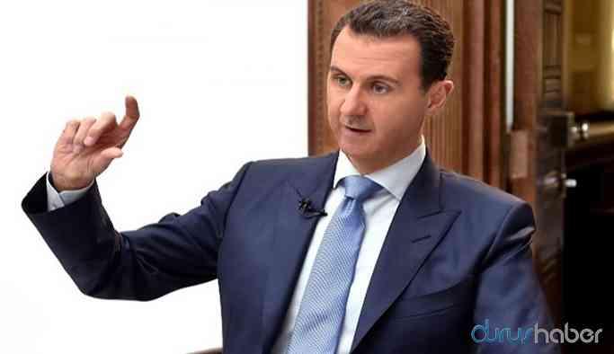 Sıcak haber... Esad yönetiminden açıklama!