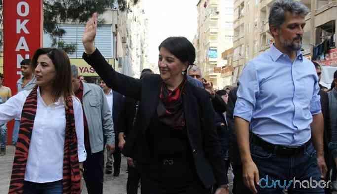 Polisten HDP'lilere: Böyle esnaf ziyareti olmaz, halk sizi alkışlıyor katılım yapıyor