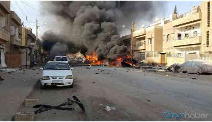 Qamişlo'da şiddetli patlama