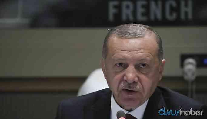 Cumhurbaşkanı Erdoğan'dan kritik ABD açıklaması