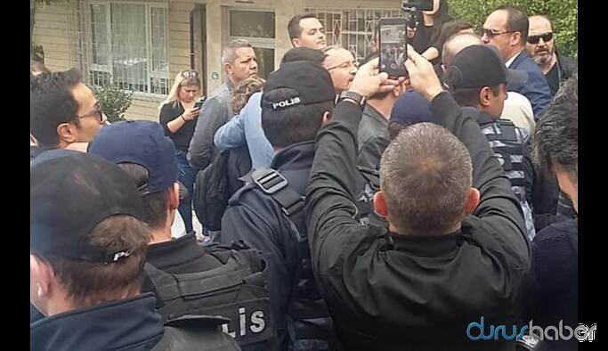 Polis HDP Genel Merkezi'ni ablukaya aldı