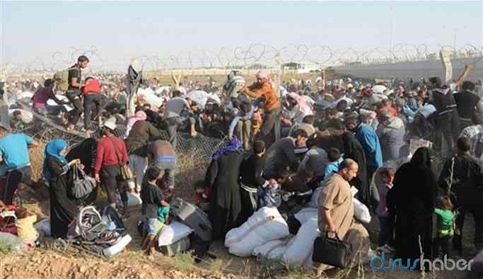 Suriyeli mültecilerin sayısı 3 ayda 25 bin arttı