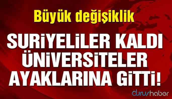 Türkiye Suriye'de üniversite kuruyor