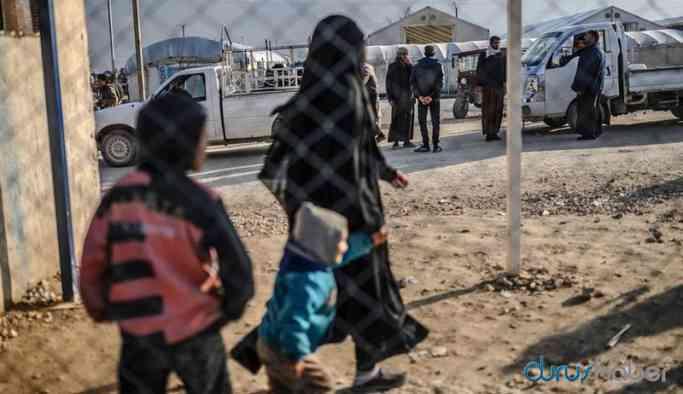 Video | Kampa tutulan IŞİD'liler kaçmaya çalıştı