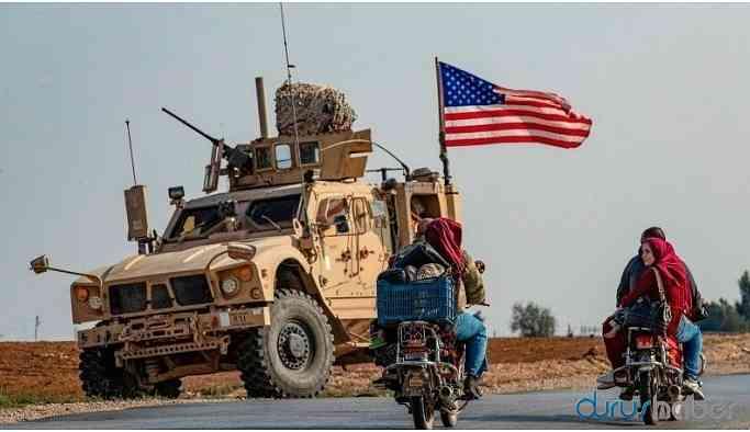 ABD: Türkiye destekli gruplar askerlerimizin konvoyuna saldırdı